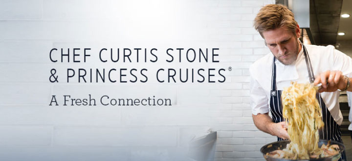 Curtis Stone and Princess Cruises launch new SHARE dining experience.