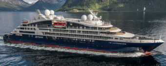 New Le Lapérouse enters the luxury Ponant fleet.