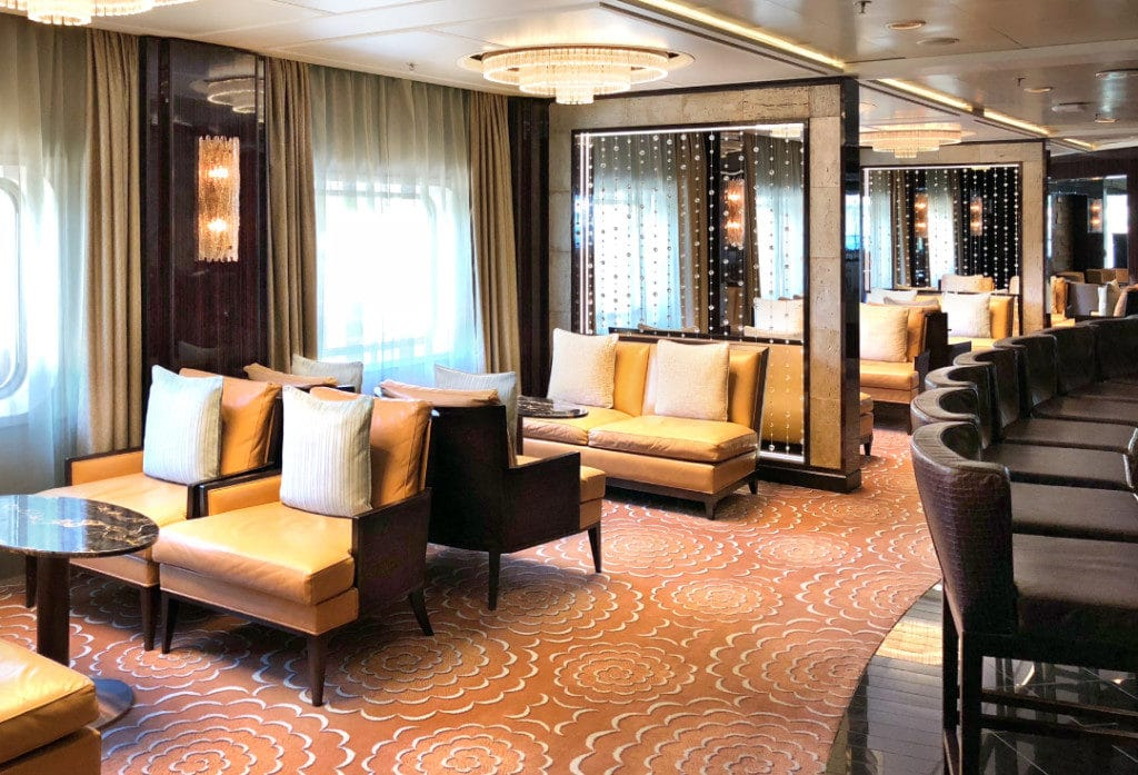 The Horizon Lounge on Seven Seas Voyager.