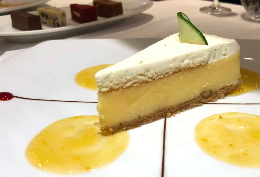 The Key Lime Pie is the perfect finale to a meal in Prime 7.