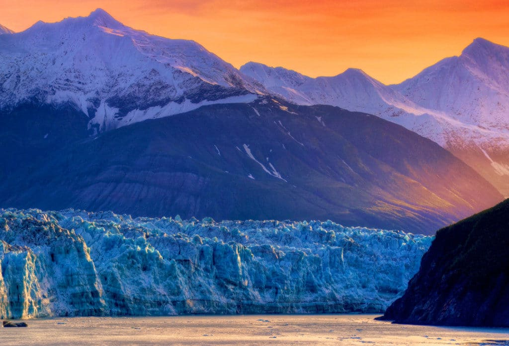 Oceania Cruises can take you to the Hubbord glacier in Alaska.