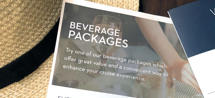 A photo of the HAL beverage packages brochure.