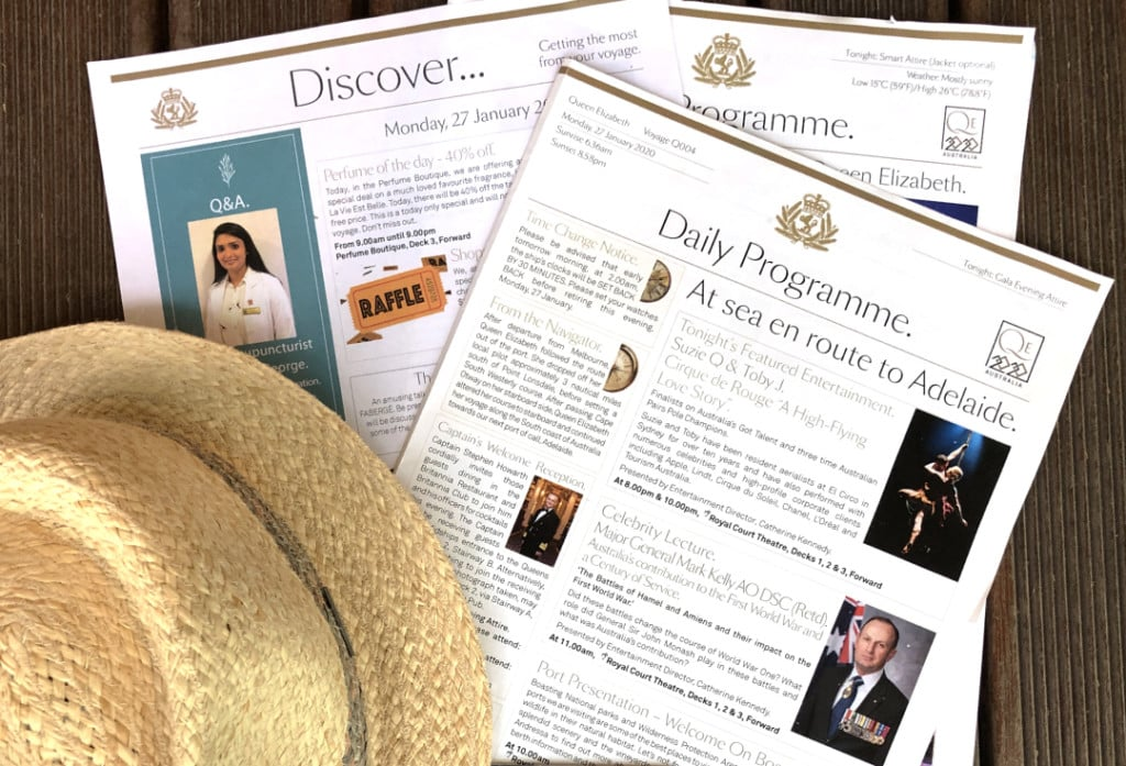 The Daily Programme newsletter on Queen Elizabeth.